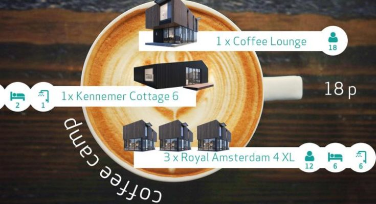 Sea Lodges Zandvoort - Coffe Camp - 2 dogs allowed - NL-12534